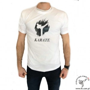T-shirt męski Fighting Empire karate wzór 1