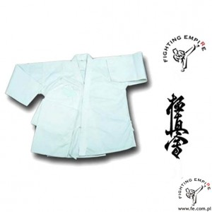 Karatega - kimono do karate Kyokushin Fighting Empire z pasem 10oz