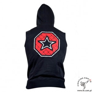 Bluza z kapturem do MMA (sleeveless hoody MMA) TOP TEN