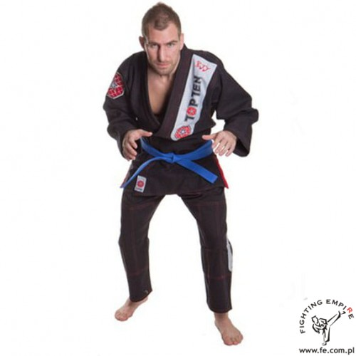 BJJ GI TOP TEN czarne